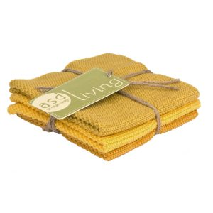 Dishcloth Golden 3 Piece Bundle