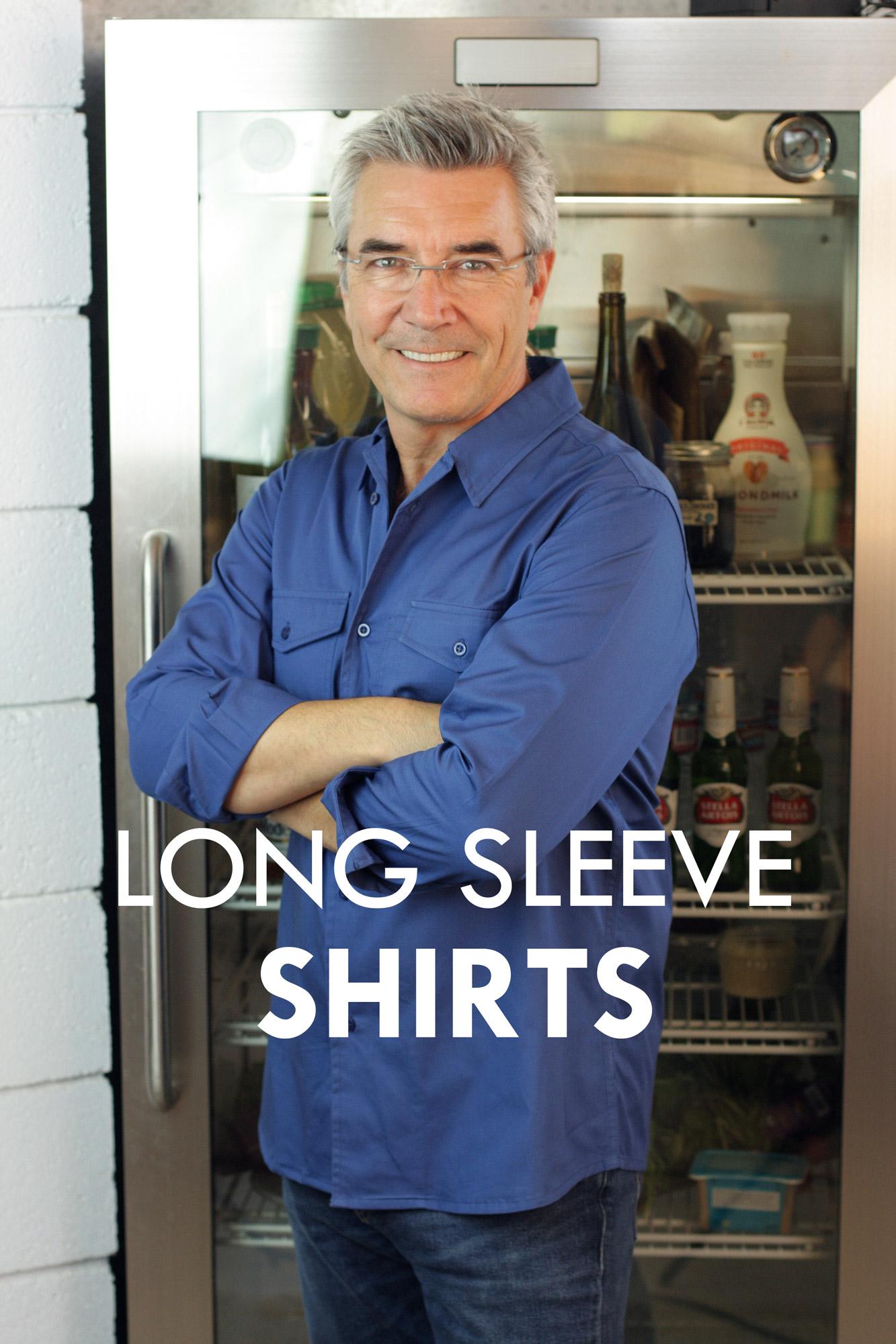 long sleeve server shirts
