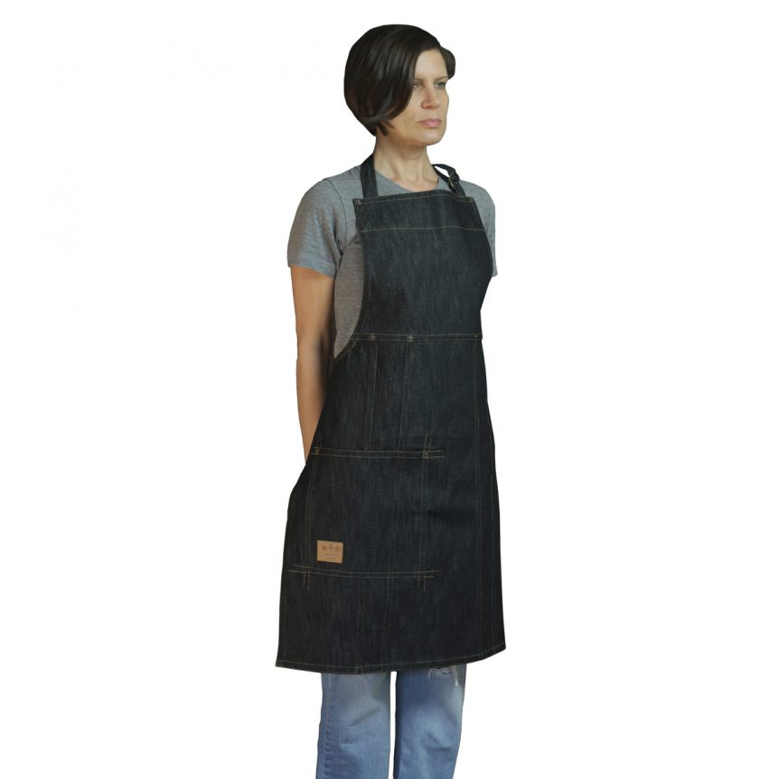 Denim Apron Indigo