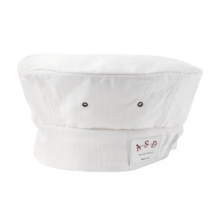 Denim Toque White