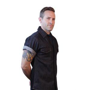 Short Sleeve Shirt Indigo Denim