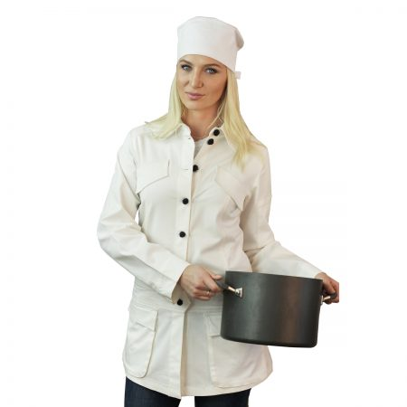 White Chef Coat Long Sleeve