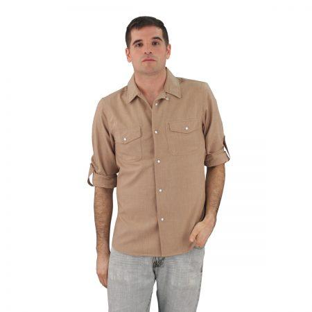 Almond Work Shirt Zanzibar