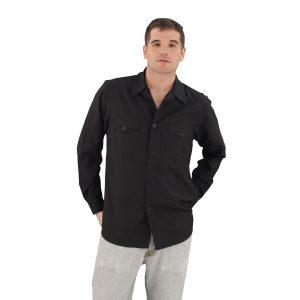 Black Work Shirt Zanzibar