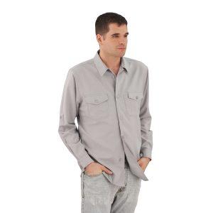 Grey Work Shirt Zanzibar