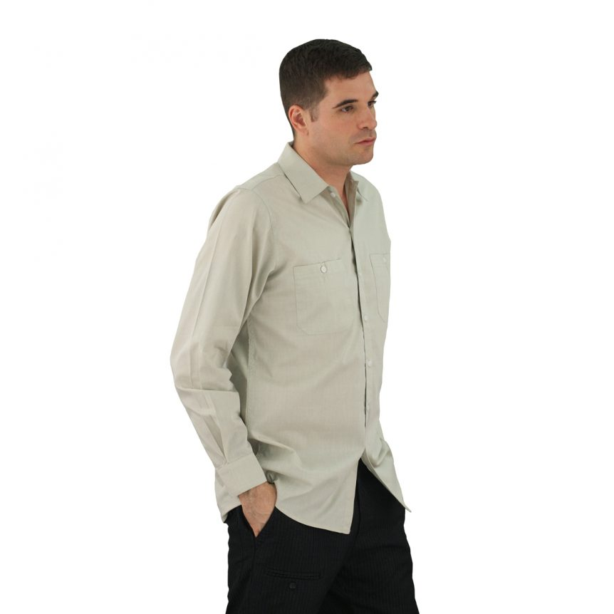 Green Oregano Work Shirt Oxford