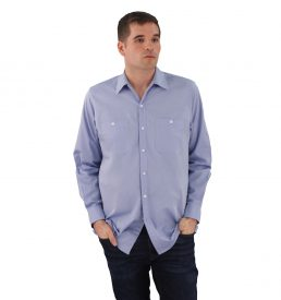 Blue Work Shirt Oxford