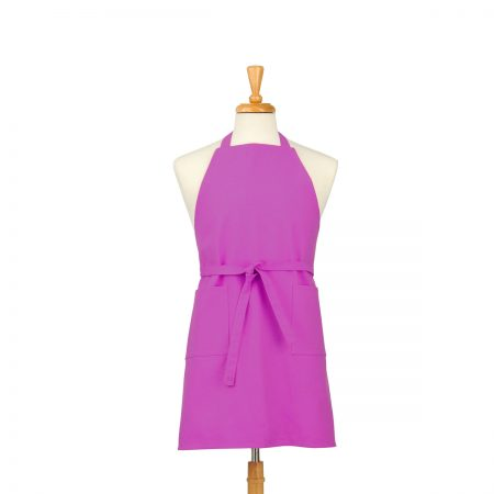 Fuschia Cotton Canvas Apron