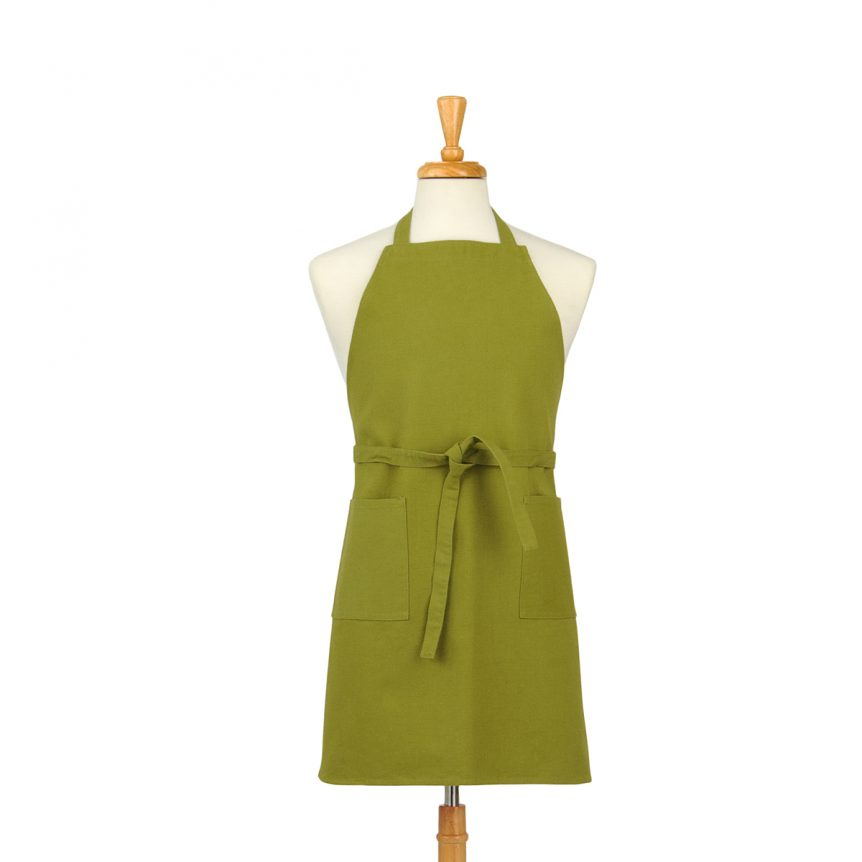 Lime Green Cotton Canvas Apron