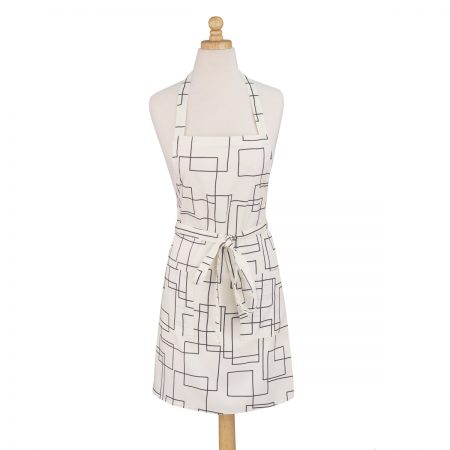 Modernist White Apron