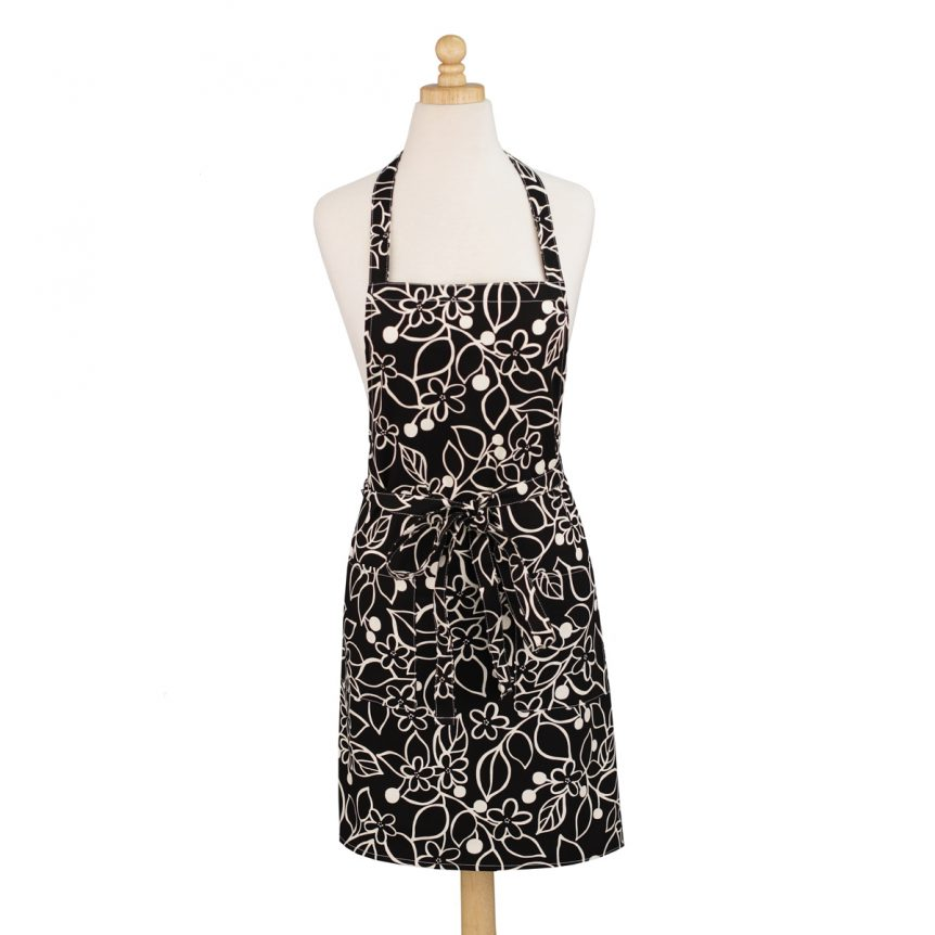 Graphic Floral Apron