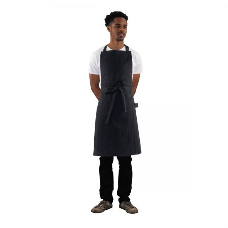 Denim Apron Black