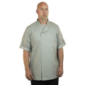 Stone Chef Coat Short Sleeve Unisex