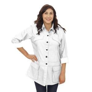 White Chef Coat Long Sleeve