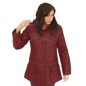 Red Chef Coat Long Sleeve