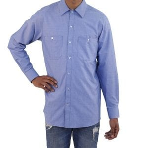 Blue Work Shirt Oxford