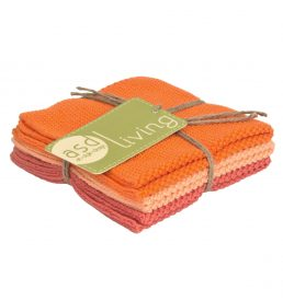Dishcloth Melon 3 Piece Bundle