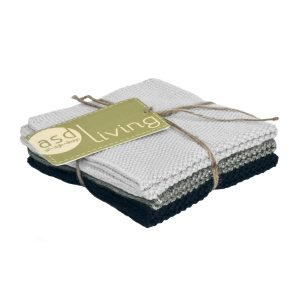 Dishcloth Neutral 3 Piece Bundle