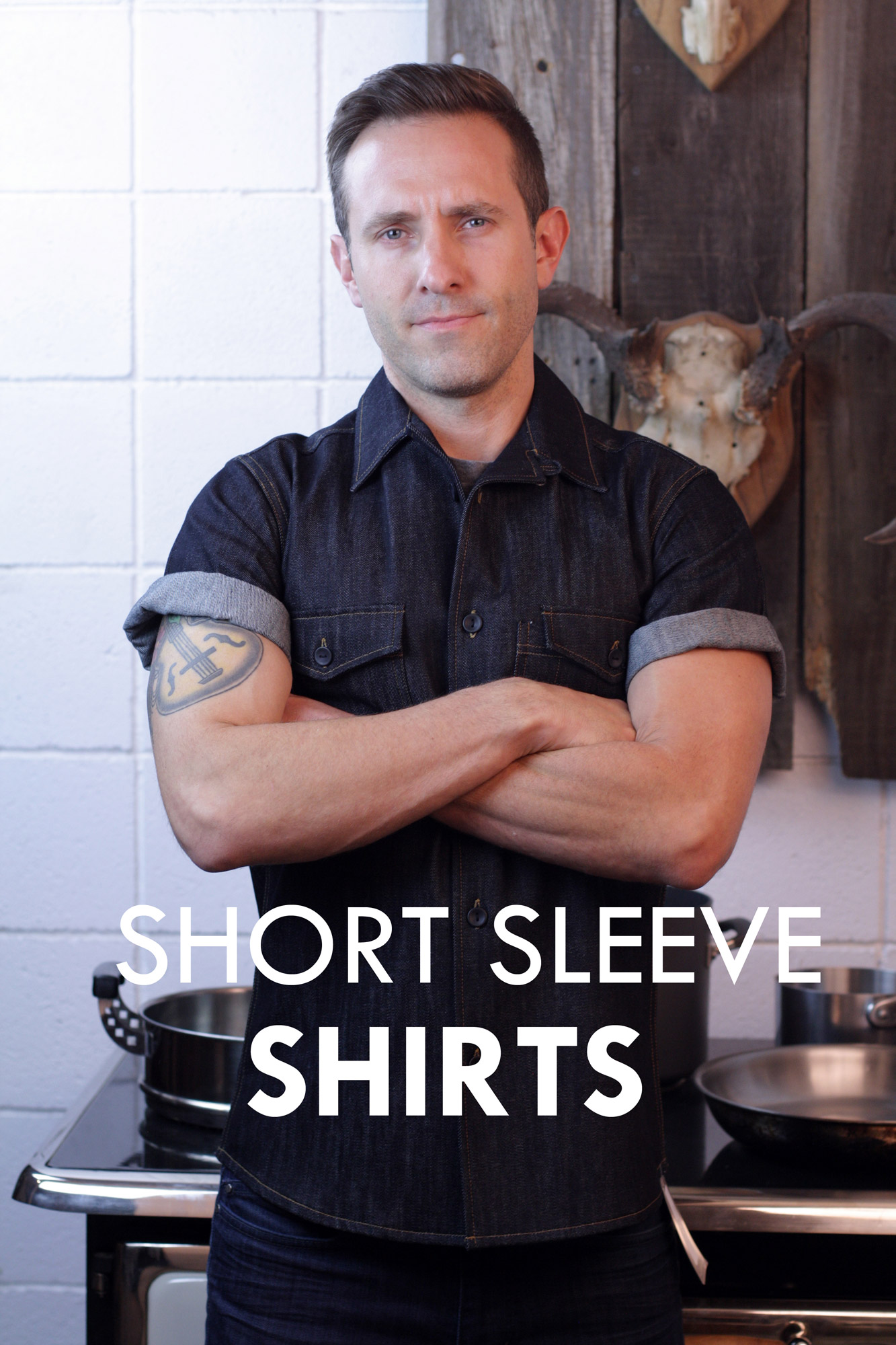 short sleeve server shirts