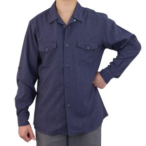 Navy Blue Work Shirt Zanzibar