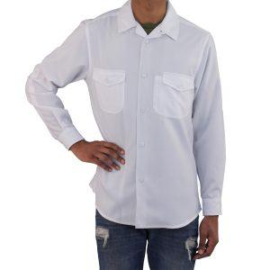 White Work Shirt Zanzibar